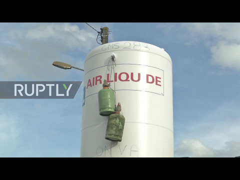 France: Workers trash factory equipment, threaten to blow up GM&S auto-plant