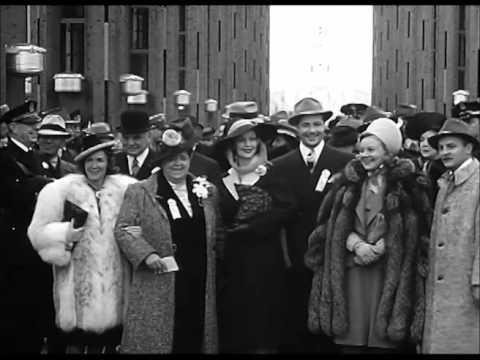 """Premiere of """"The Story of Alexander Graham Bell"""" (1939)"""