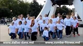 Детский флешмоб за здоровый образ жизни от студии танцев Dallas. Dansuri in Chisinau pentru copii.