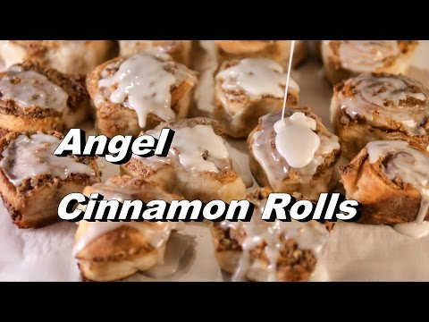 Angel Cinnamon Roll Bites / Centers! Use Your Angel Biscuit Dough (Cinnamon Rolls Recipe)