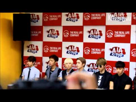 AIA K-POP 2013 Press Conference in Malaysia