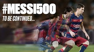 Lionel messi - all 500 goals with fc barcelona | 2004 - 2016 | أهداف ليونيل ميسي ال 500 مع برشلونة