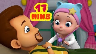 Johnny Johnny Yes Papa - Going to Doctor Song | Rhymes for Children | Infobells