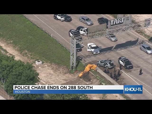Watch Live: Police chase in Houston's Third Ward – Houston
