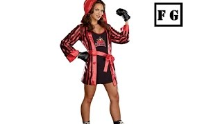 Sexy Red Women's Boxer Costume
