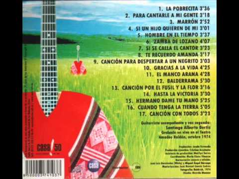 """Mercedes Sosa """"Canción con todos"""" (1974) completo full album"""