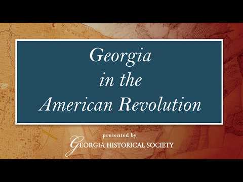 Georgia In The American Revolution Teacher Overview