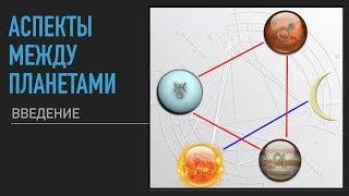 Аспекты между планетами. Введение