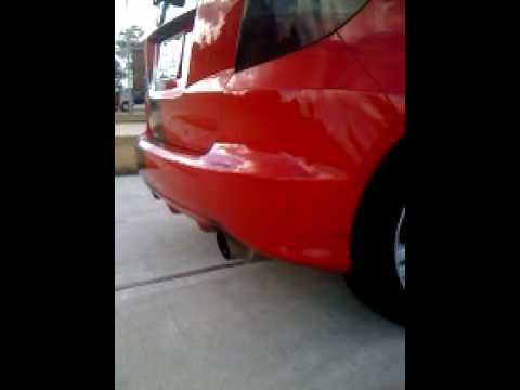 09 Honda Fit Cat Back Exhaust