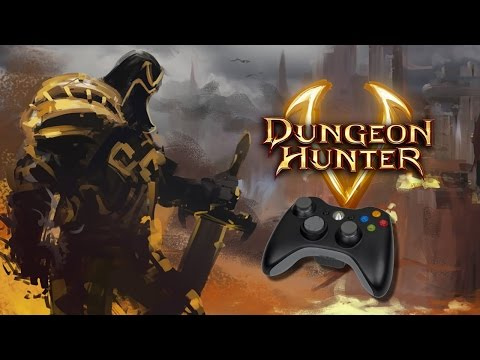 Dungeon Hunter 5 No Windows 10 Com Controle De Xbox 360
