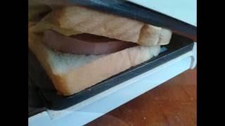 Эти бутерброды понравятся всем! Очень вкусные бутерброды на электрогриле.