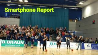 Smartphone Report Sheffield Sharks for Leicester Riders September 2015