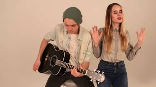 Mark Ronson feat. Bruno Mars - Uptown Funk (Acoustic Cover by Dasha Shulgina & Alex Kuznetcov)