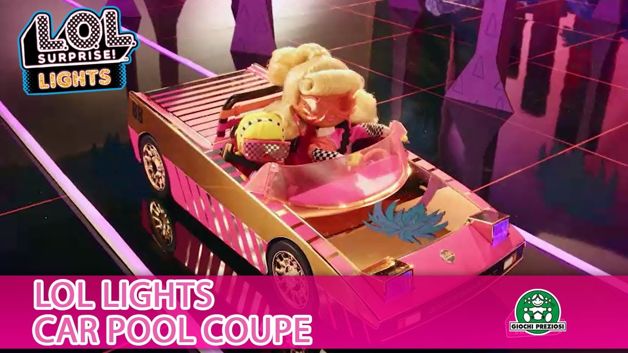L.O.L Surprise / Lights Car-Pool Coupe / Pub TV / Giochi France