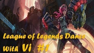 Video Vi Teach me how to dougie - League of Legends Dance Video #1 [HD] download MP3, 3GP, MP4, WEBM, AVI, FLV Juli 2018