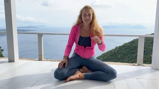 Alpha Yoga  School Reviews | Isabelle from Germany | 200-hr YTT in Lefkada Island, Greece 2020