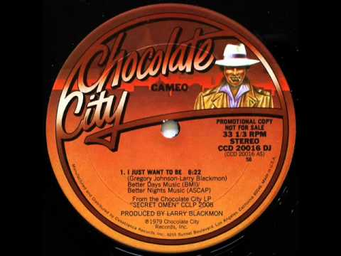 """Cameo - I Just Want To Be (12"""" Inch Version)"""