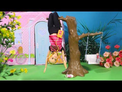 У БАРБИ КАНИКУЛЫ!!! Школу отменили.  Куклы Мама Барби, Маша и Даша
