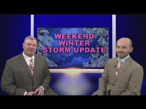 Winter Storm Update - Looking deeper into Weekend Storm