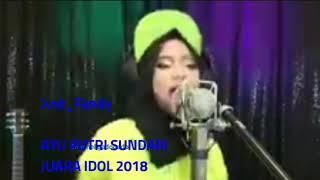 JUARA I INDONESIAN IDOL 2018 AYU PUTRI SUNDARI