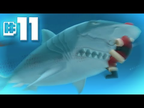 MEGALODON Eats Santa || Hungry Shark Evolution - Ep 11
