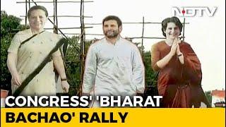 Congress Mega Rally Today To Attack Government Over Citizenship Act, Jobs