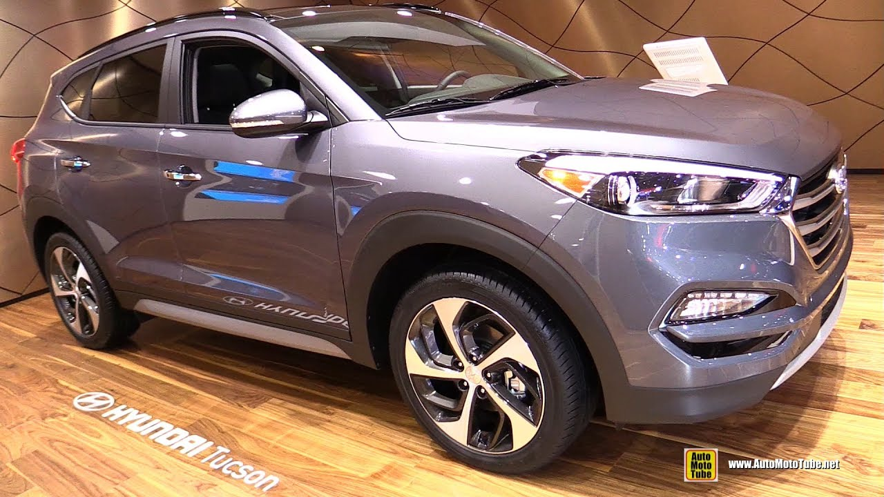 2017 Hyundai Tucson Exterior And Interior Walkaround Detroit Auto Show
