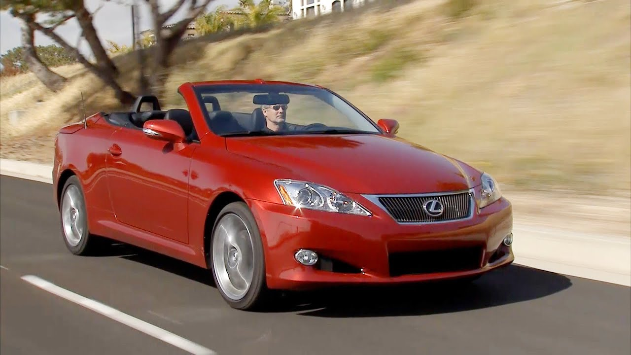 youtube is convertible watch lexus