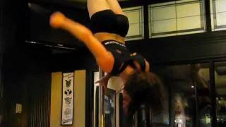 "Jenyne Butterfly - Pole Performance at Legends Salt Lake City - Song ""Black and Gold"" By: Sam Sparro"