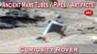 Mars Pipes, Tubes, Structures & More In New Curiosity Rover Image!