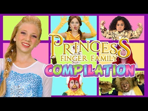 Our Favorite Princess Finger Family Compilation | SillyPop