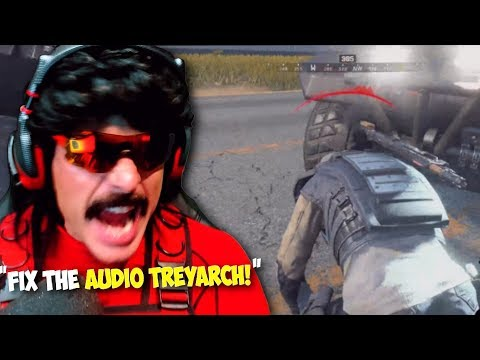 "DrDisRespect: ""Audio Design is TERRIBLE in This Game"" 