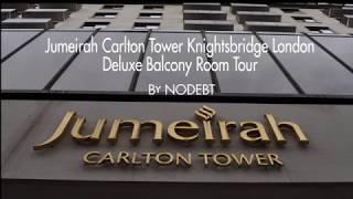 Jumeirah Carlton Tower London Deluxe Balcony Room Tour