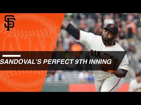 Panda tosses perfect 9th inning vs. Dodgers