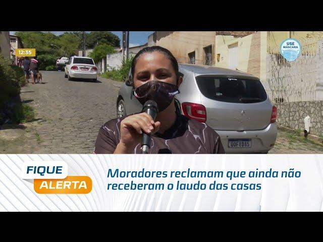 Rachaduras: Moradores do Bebedouro reclamam que ainda não receberam o laudo das casas
