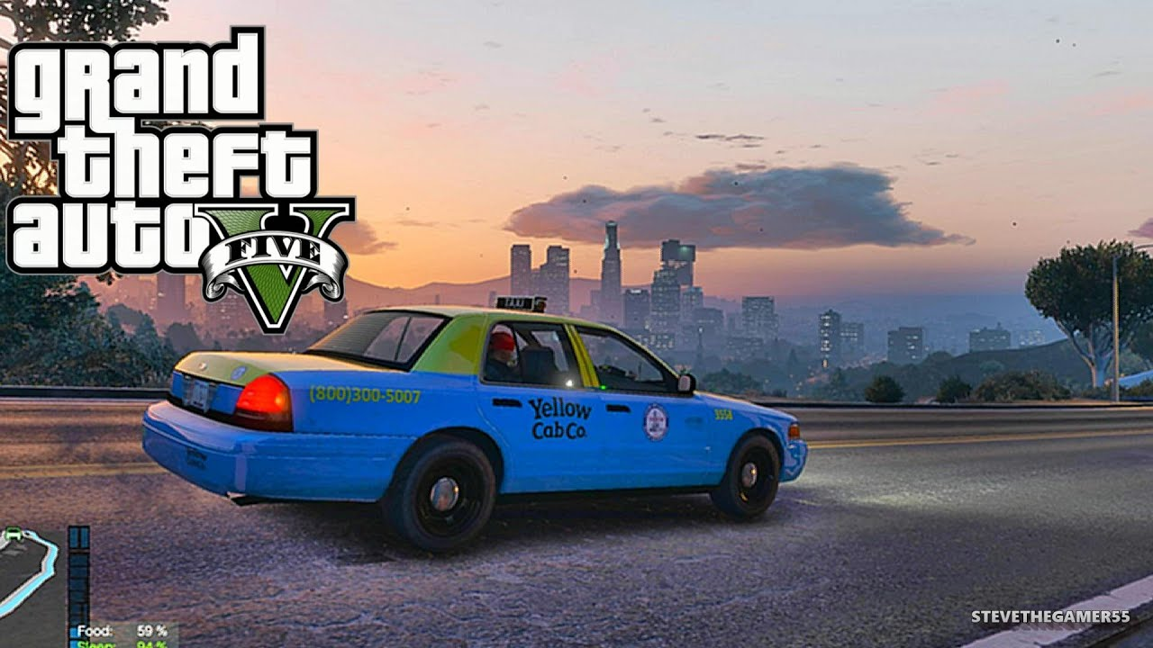 GTA 5 MODS - LET'S GO TO WORK - PART 3 (GTA 5 PC MODS) LIVE