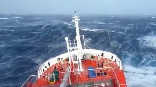 Top - 5 biggest storms, tsunami | ships in a storm | huge wave