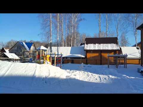 Таунхаус в поселке Озерный микрорайон Солнечный Новосибирск