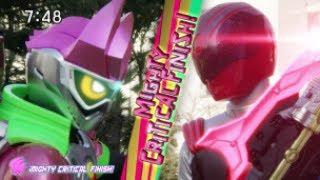 Download lagu Uchū Sentai Kyuranger Kyuranger Leo RedKamen Rider Ex Aid Battle Scene MP3