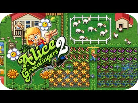 ألعاب مغبرة - لعبة  ( Alice Green Fingers 2 )