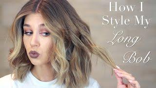 видео Локоны утюжком на короткие волосы