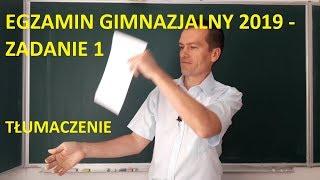 Egzamin Ósmoklasisty 2019 - Zadanie 1. Kalendarz. | MatFiz24.PL