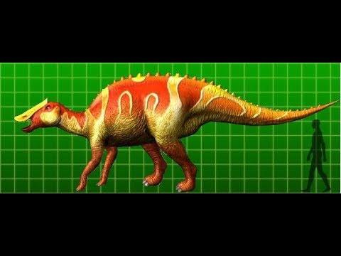 Dinosaurios: Prosaurolophus (Previo a Saurolophus)