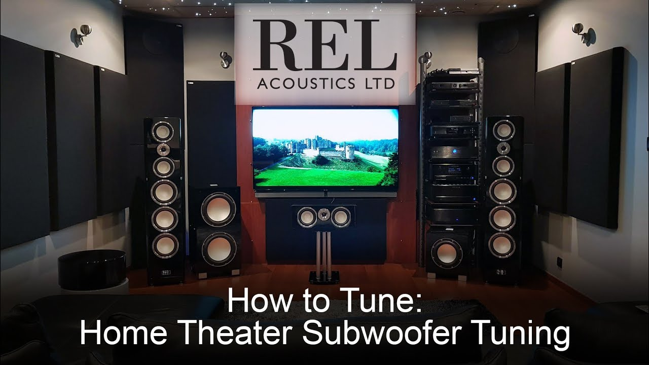 rel acoustics how to home theater subwoofer tuning youtube. Black Bedroom Furniture Sets. Home Design Ideas