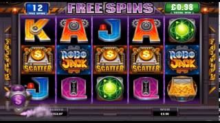 Robo Jack Online Slot Game(Robo Jack video slot has a Free Spins Bonus with 5 bonus features to choose from, players are in for a treat with this robo themed slot game., 2014-06-19T13:01:56.000Z)