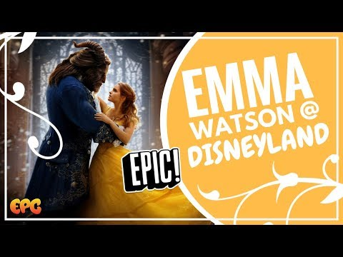 EMMA WATSON BEAUTY AND THE BEAST | DISNEYLAND 2017 | WALT DISNEY STUDIOS TOUR