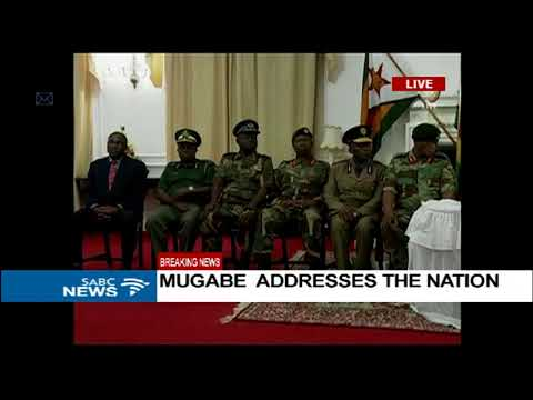 President Robert Mugabe's state of the nation address speech