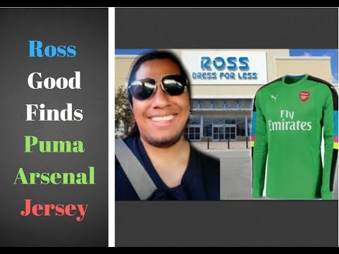 Trip to Ross *  PUMA ARSENAL 2016/2017 AFC GK Goalkeeper Jersey * #167