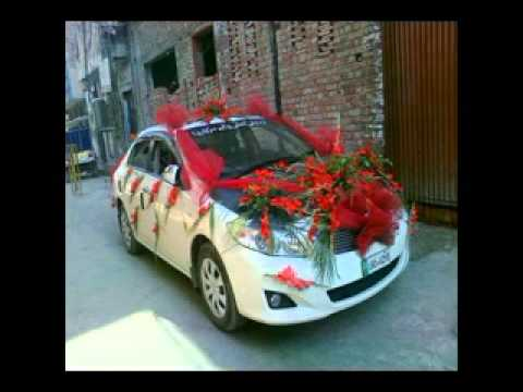 Pakistani wedding car youtube for Auto decoration in pakistan