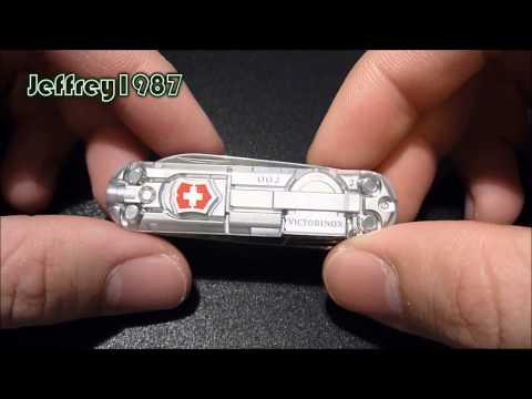 [UNBOXING] Victorinox Swiss Army Knife - Signature Lite SilverTech